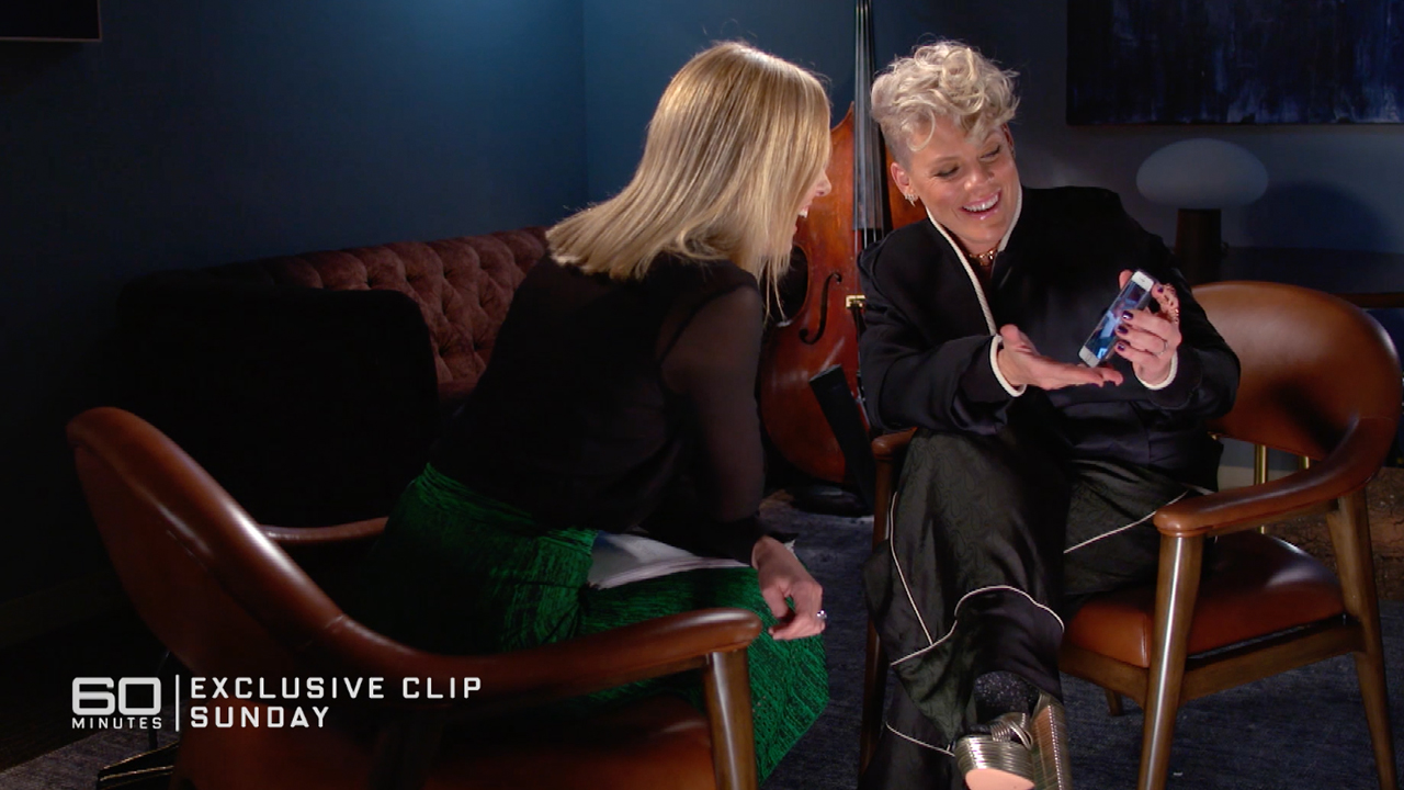 Exclusive clip: Pink | Sunday on 60 Minutes