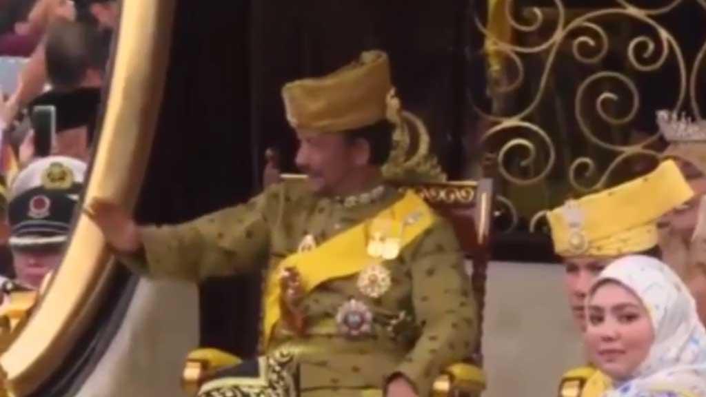 Sultan of Brunei celebrates 50th anniversary