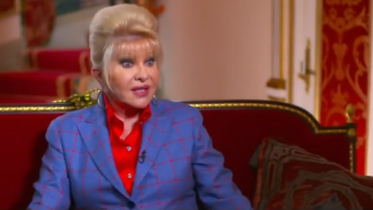Ivana Trump claims first lady title