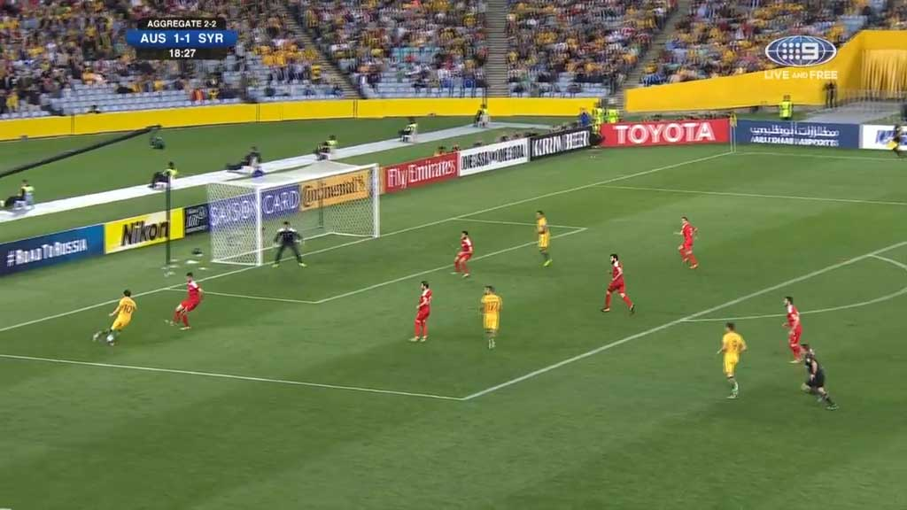 Cahill delivers for the Socceroos, again