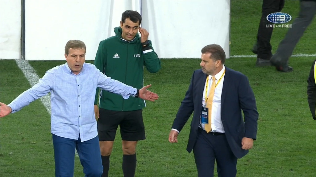 Ange in spat with Syria coach