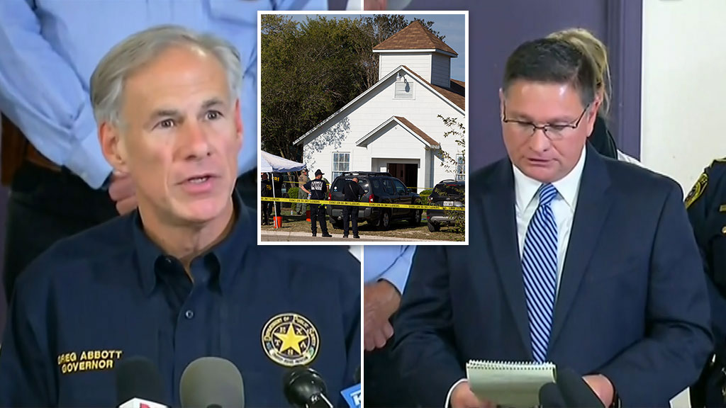 Police confirm 26 have been killed in Texas church massacre