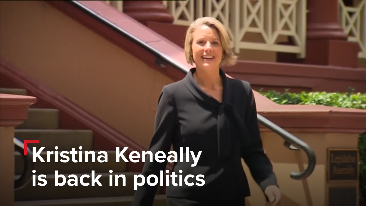 Everything you need to know about Kristina Keneally