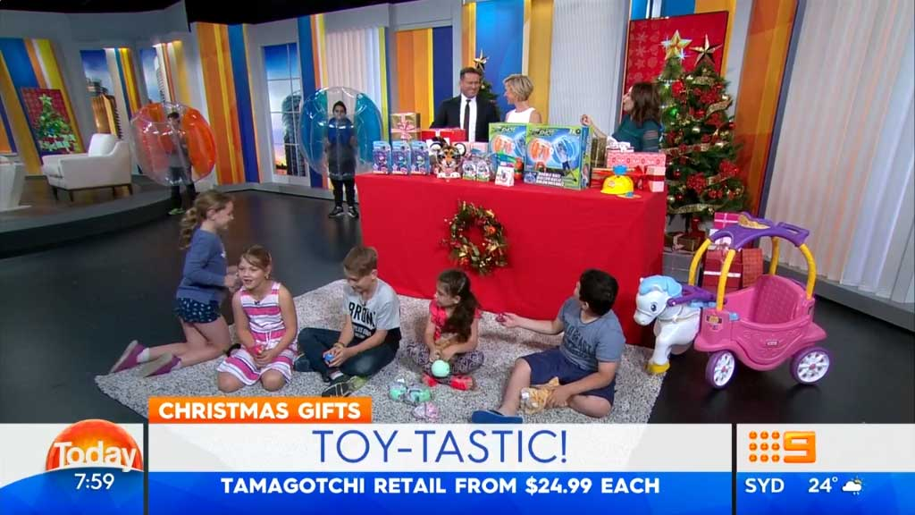 eBay reveals the top five toys for Christmas