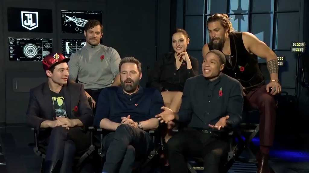 Justice League cast interview