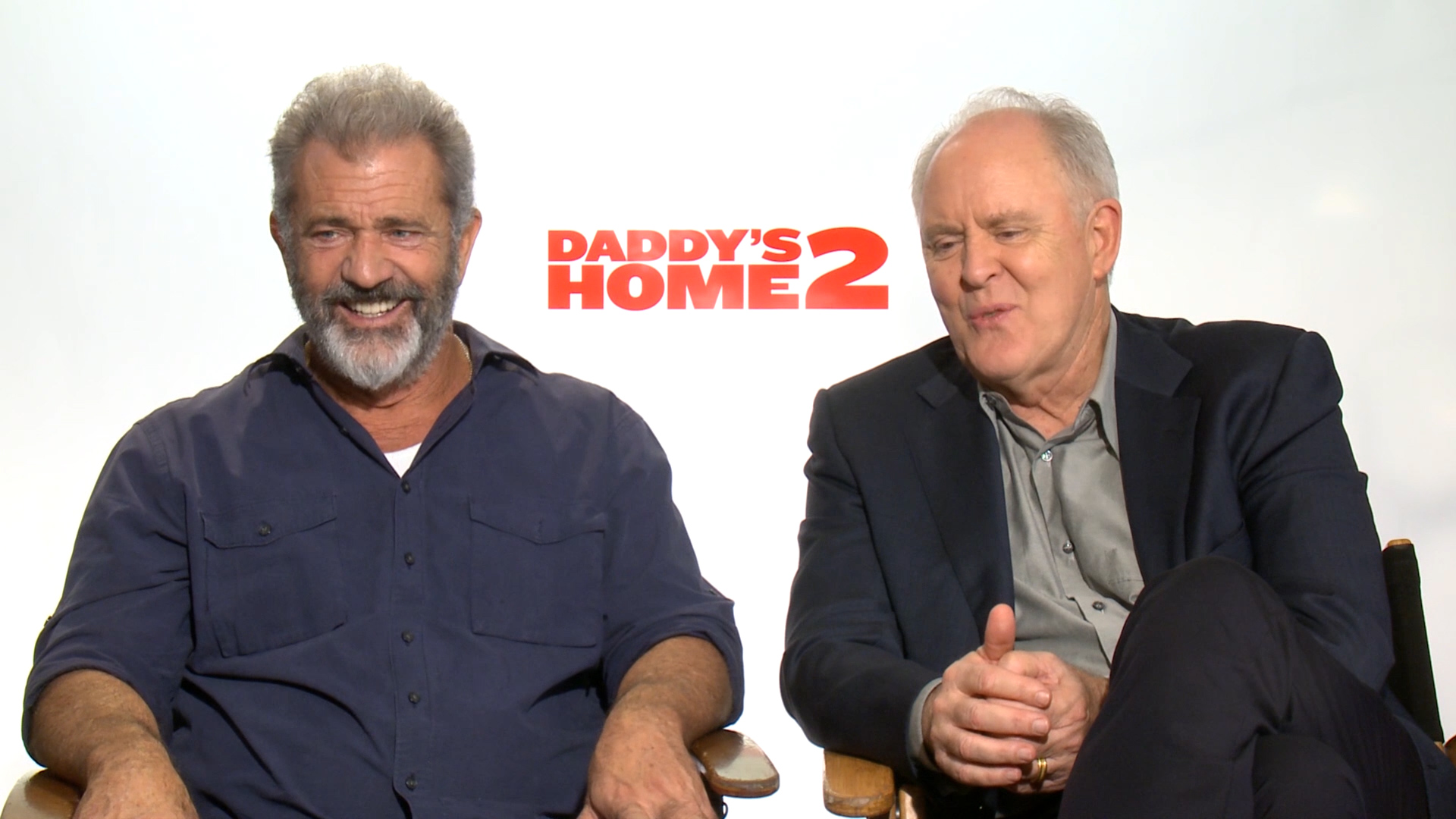 Mel Gibson and John Lithgow talk 'Daddy's Home 2'