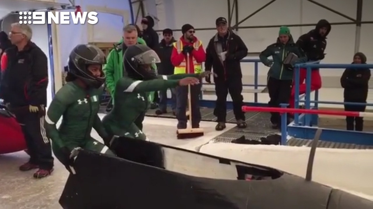 Nigerian women's bobsled team make history