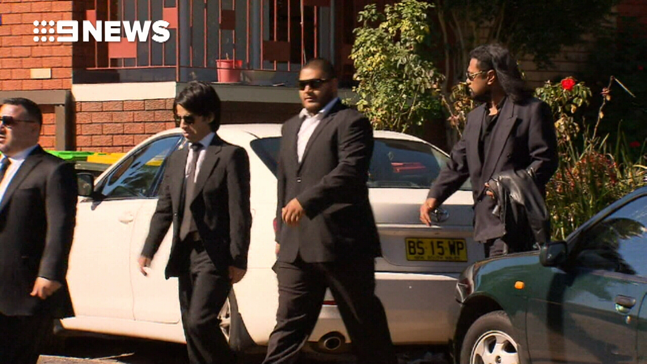 Bodyguard to Ibrahim family shot in the back