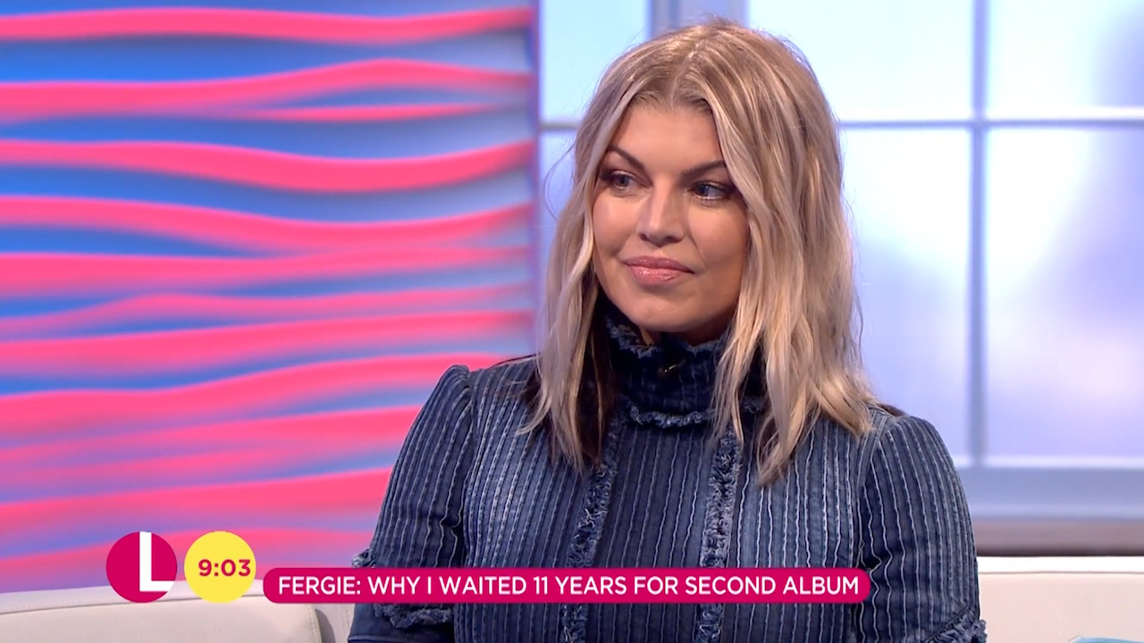Fergie talks 'Mummy shaming'