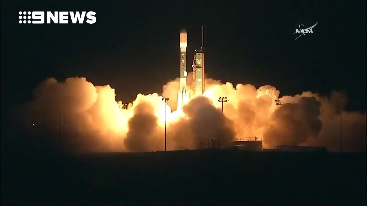 NASA launches new weather satellite