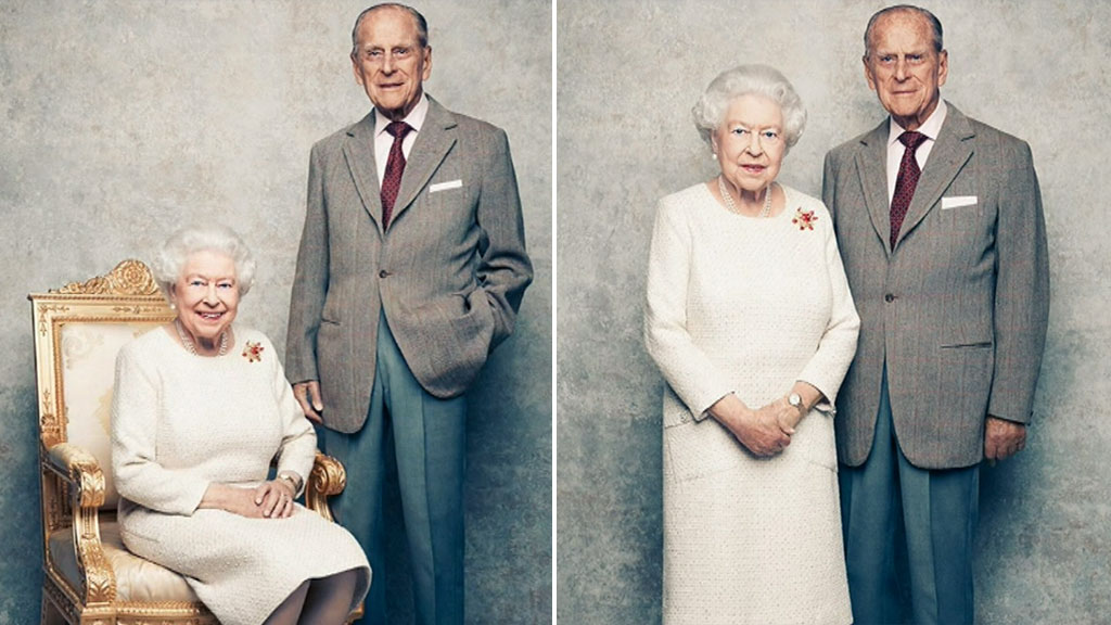 Queen Elizabeth and Prince Philip mark the 70th wedding anniversary