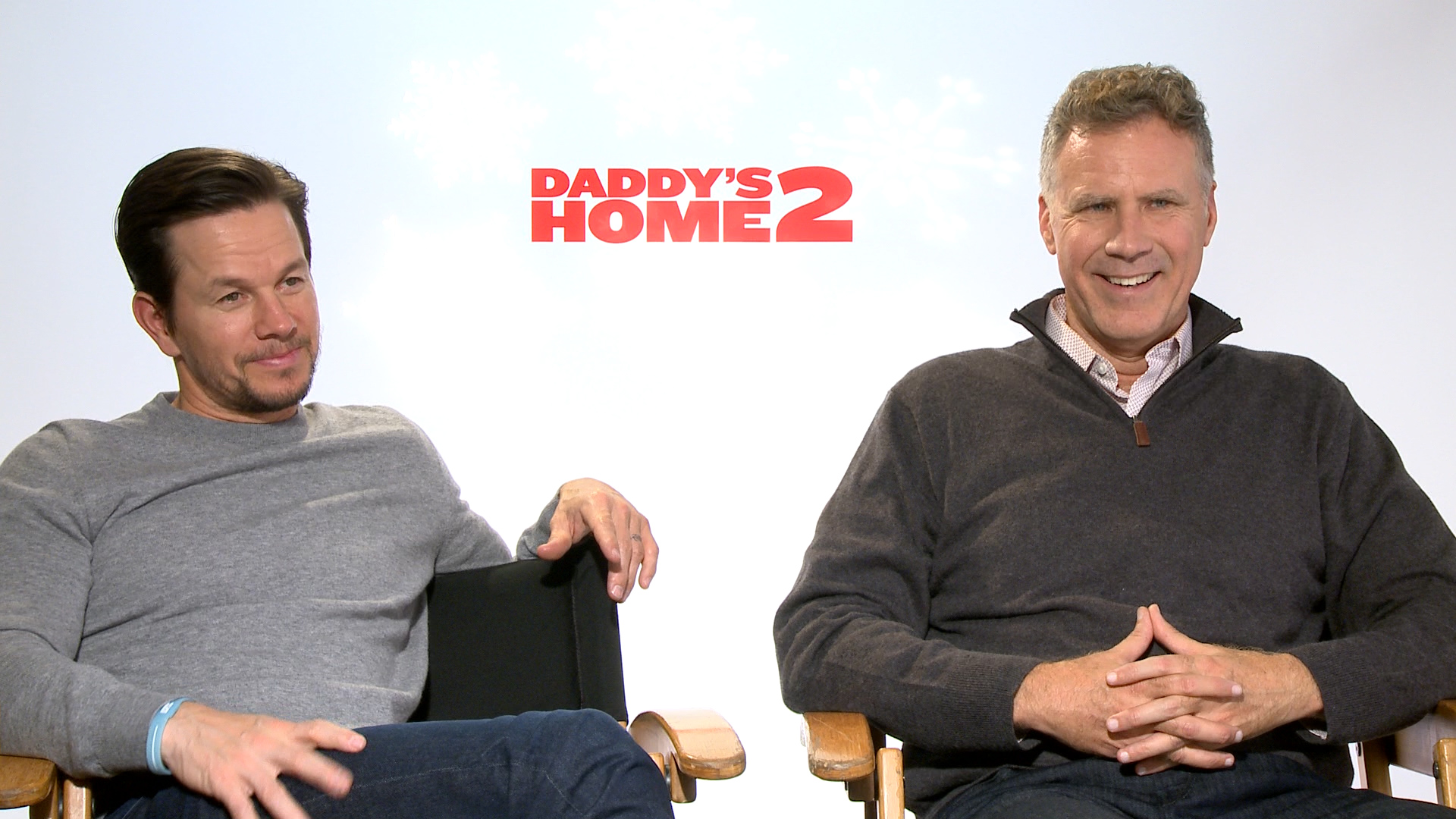 Mark Wahlberg and Will Ferrell talk 'Daddy's Home 2'