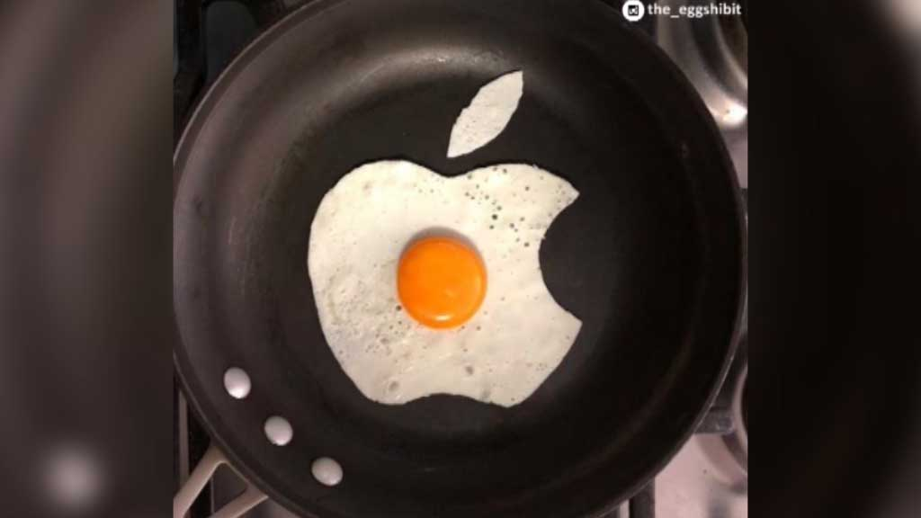 Medical student's fried egg art reinvents the breakfast staple