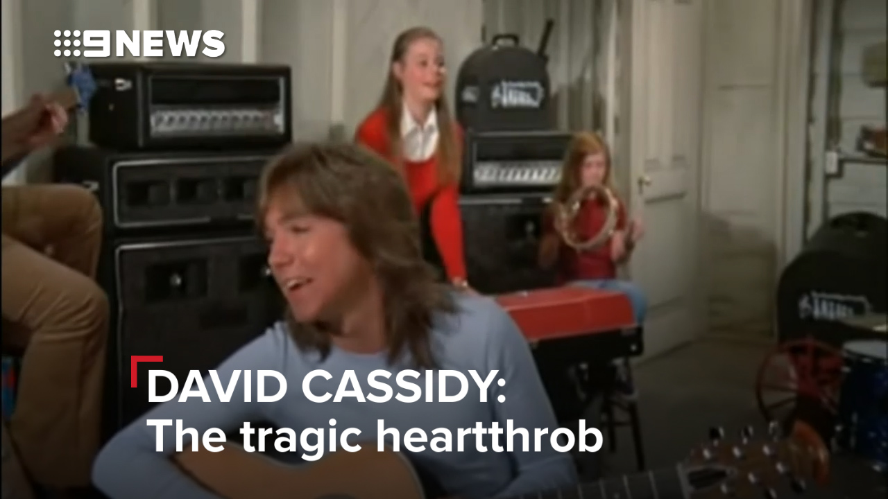 David Cassidy: The tragic heartthrob