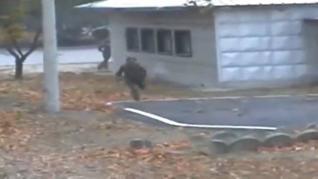 North Korean soldier makes terrifying escape across border