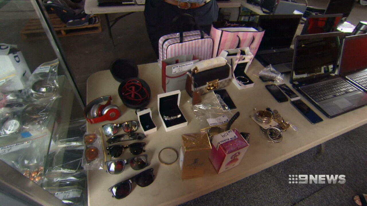 Unclaimed items up for grabs at Brisbane Airport's lost property auction