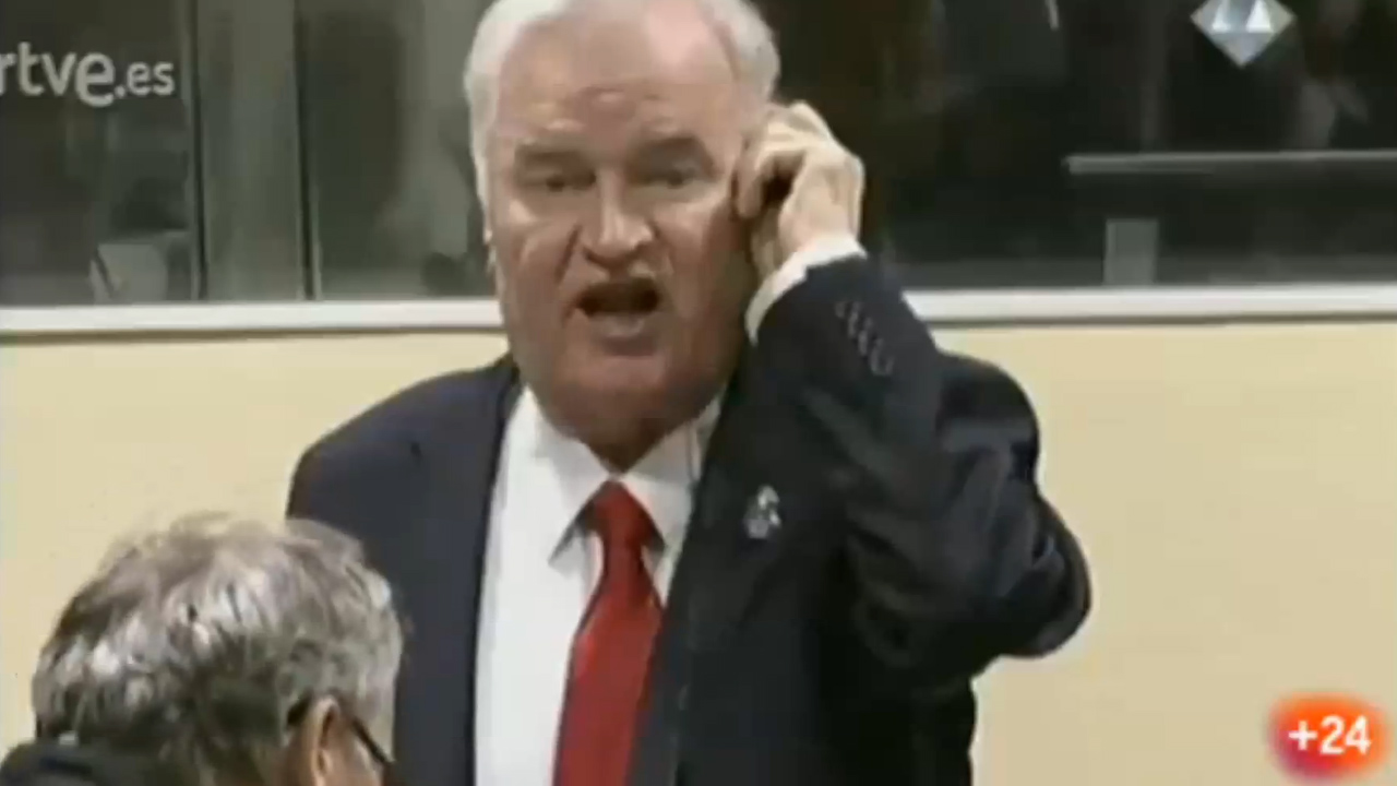 Judge removes Ratko Mladic from war tribunal after angry outburst