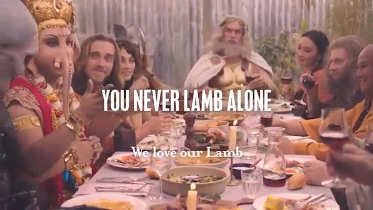 Spring lamb ad sparks outrage among Hindus