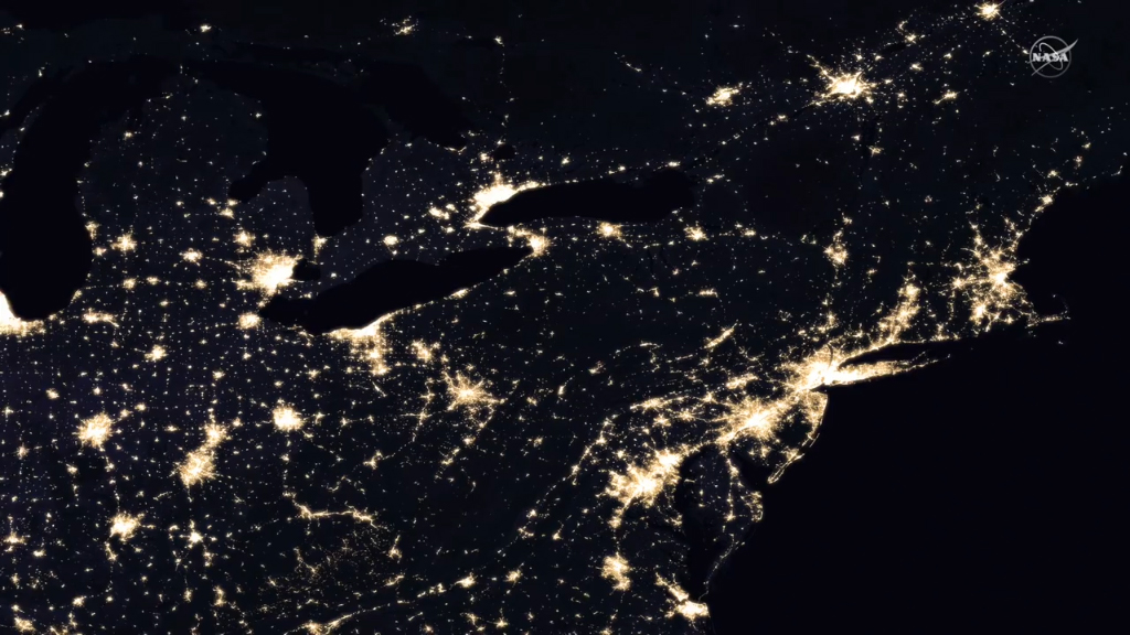 NASA release new maps of Earth at night