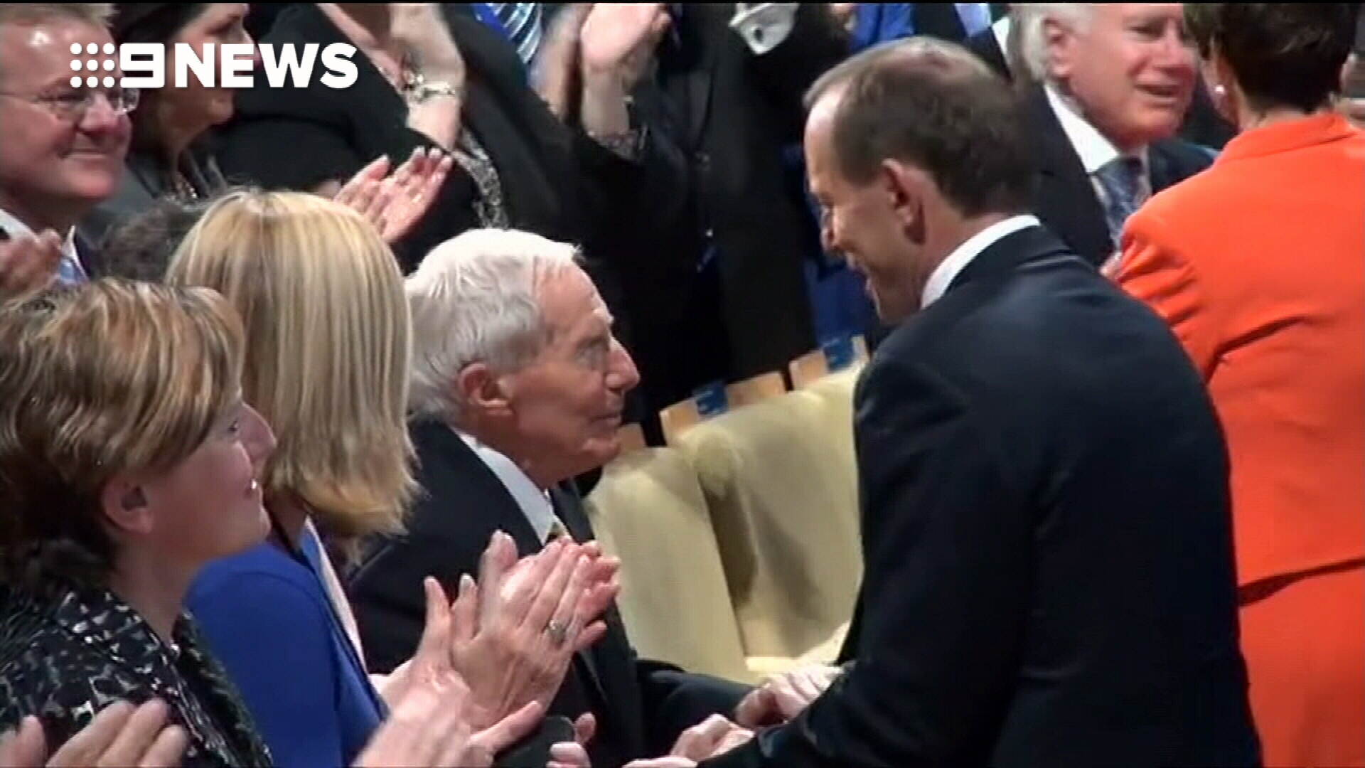 Tributes flow after Tony Abbott's father dies