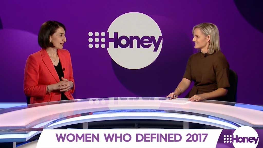 Women who defined 2017: Gladys Berejiklian