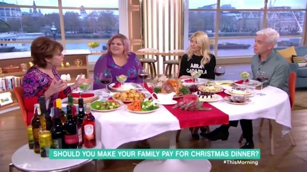 Mother Charges Her Guests 50 For Christmas Dinner