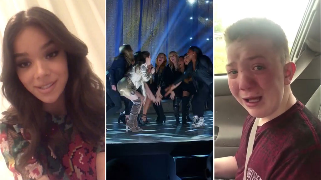 Hailee Steinfeld invites Keaton Jones to premiere