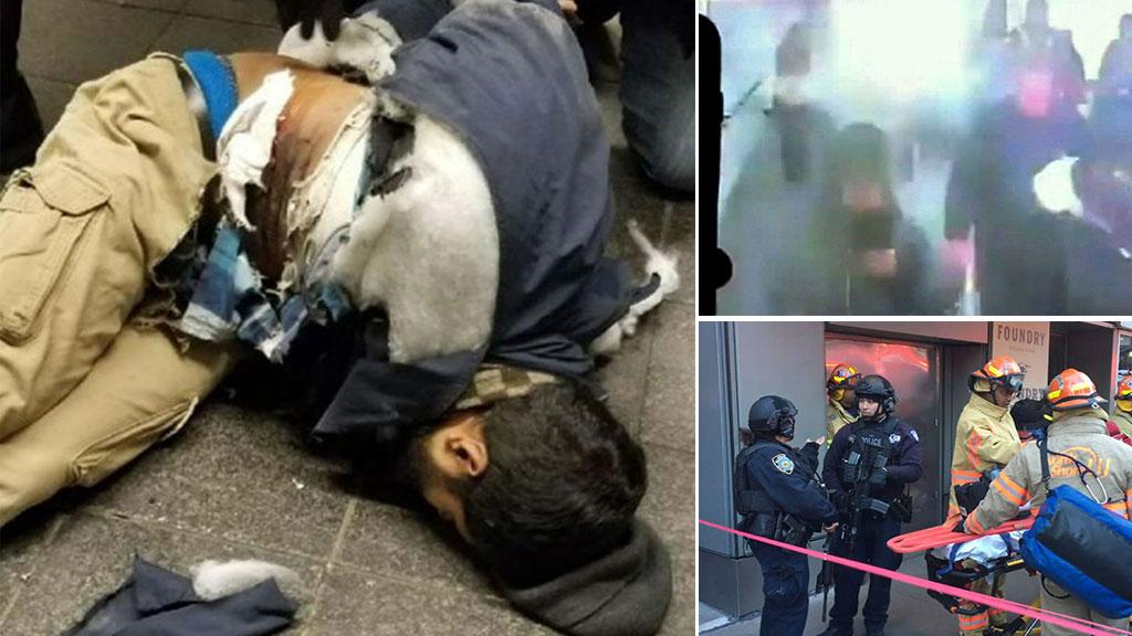 Explosion rocks NYC in suspected terror attack