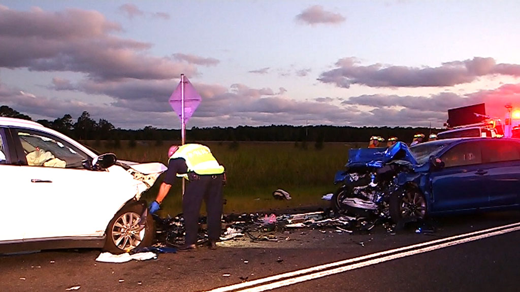 Two people in their 70's killed in head-on car crash