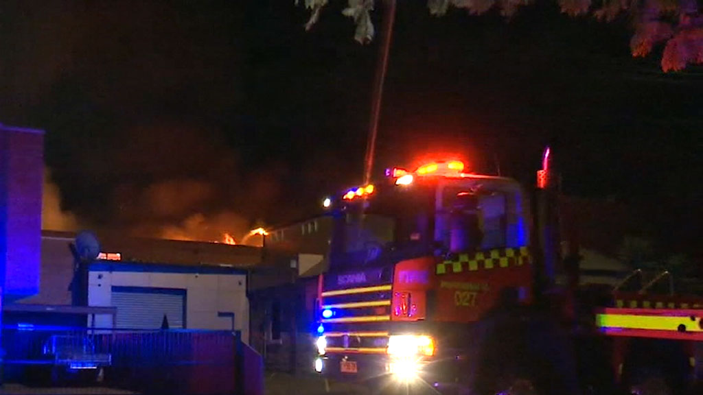 At least 50 firefighters needed to battle ferocious factory blaze
