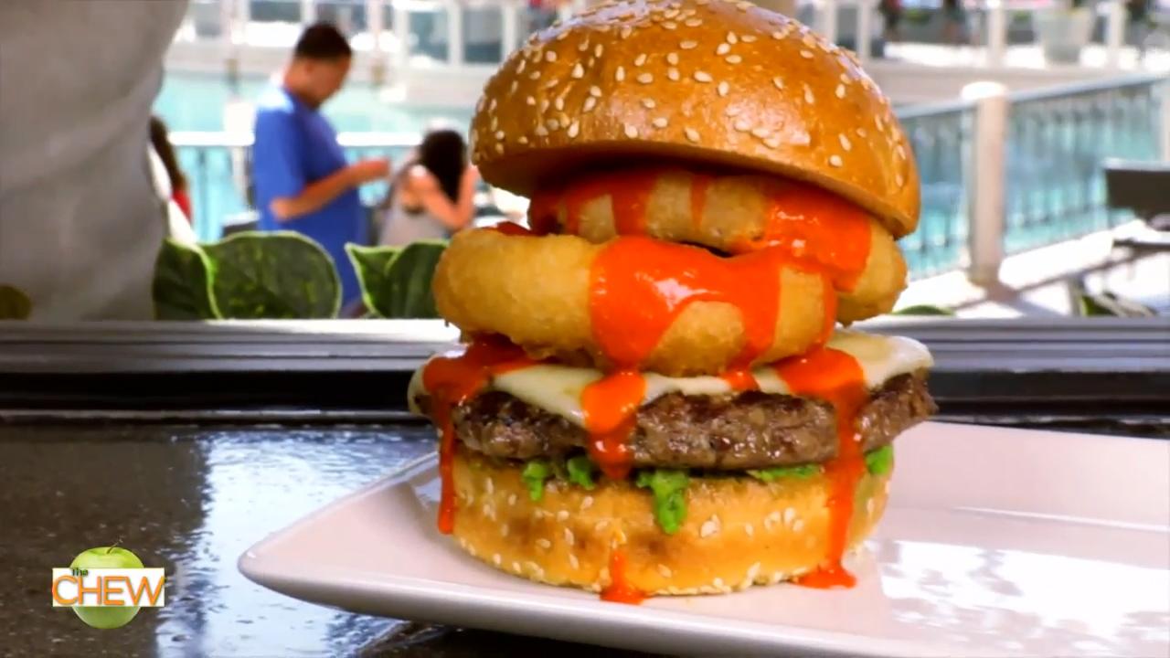 Celebrity Chef Mario Batali visits his Las Vegas restaurants