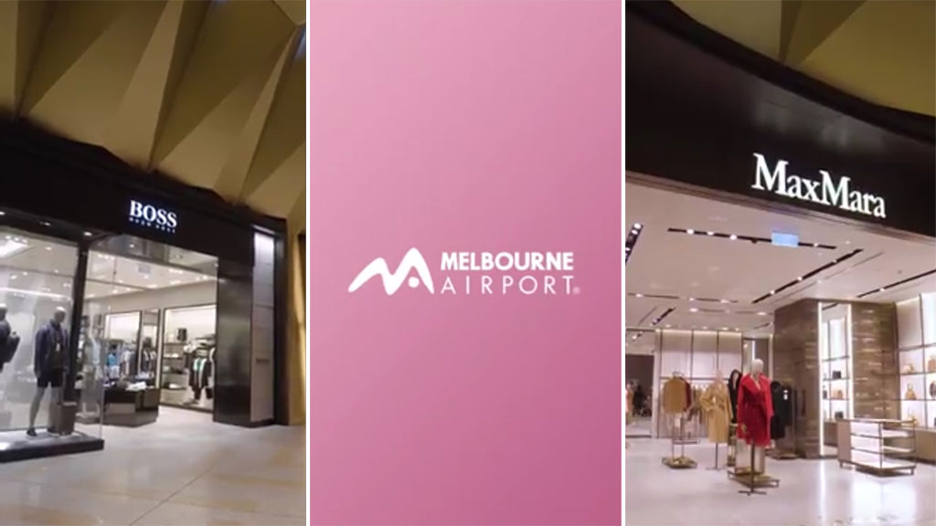 Melbourne Airport opens luxury shops and cafes