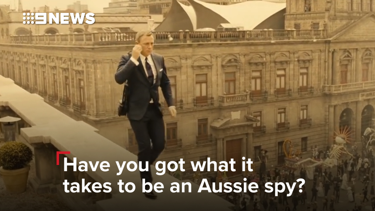 Have you got what it takes to be an Aussie spy?