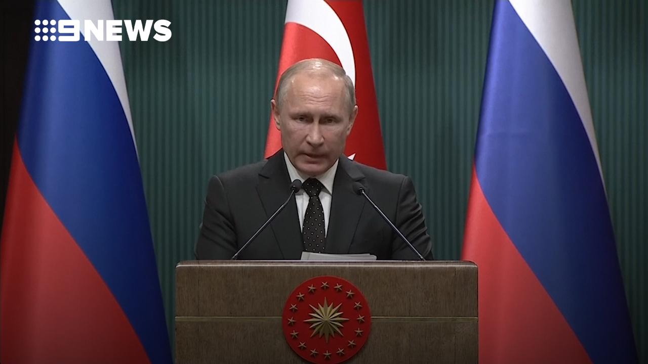 Putin says Trump's Jerusalem declaration 'destabilises' region