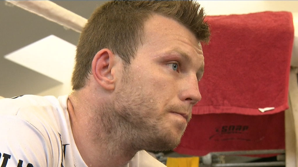 Jeff Horn prepares to defend his wold boxing title