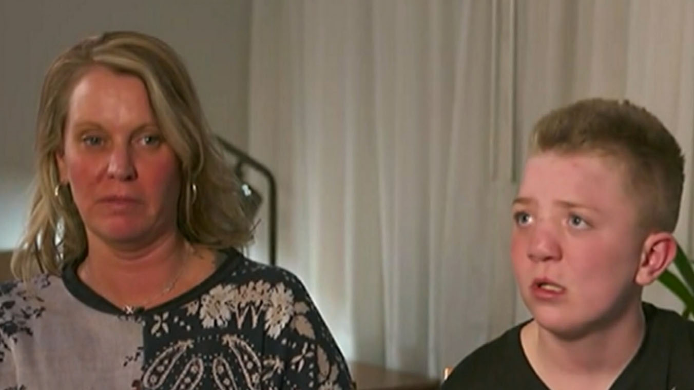 Mother of Keaton Jones addresses racist claims