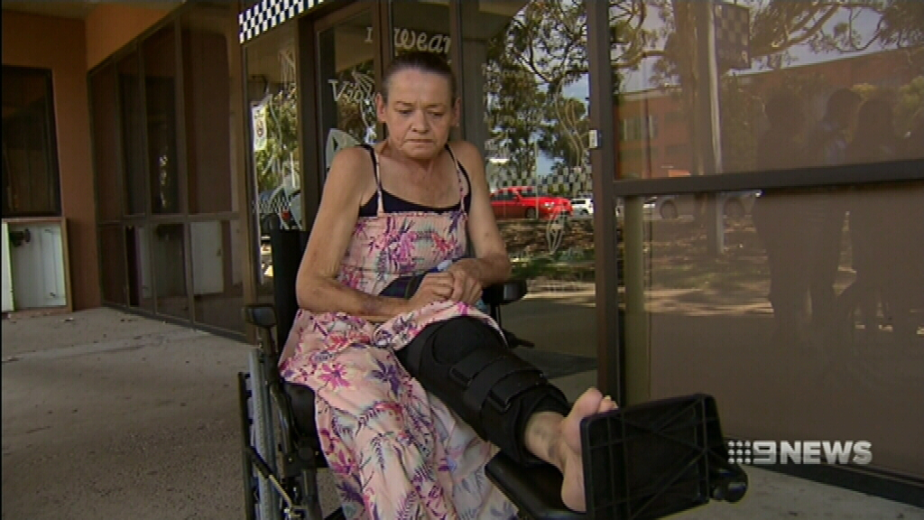 Woman with acquired brain injury has bag stolen