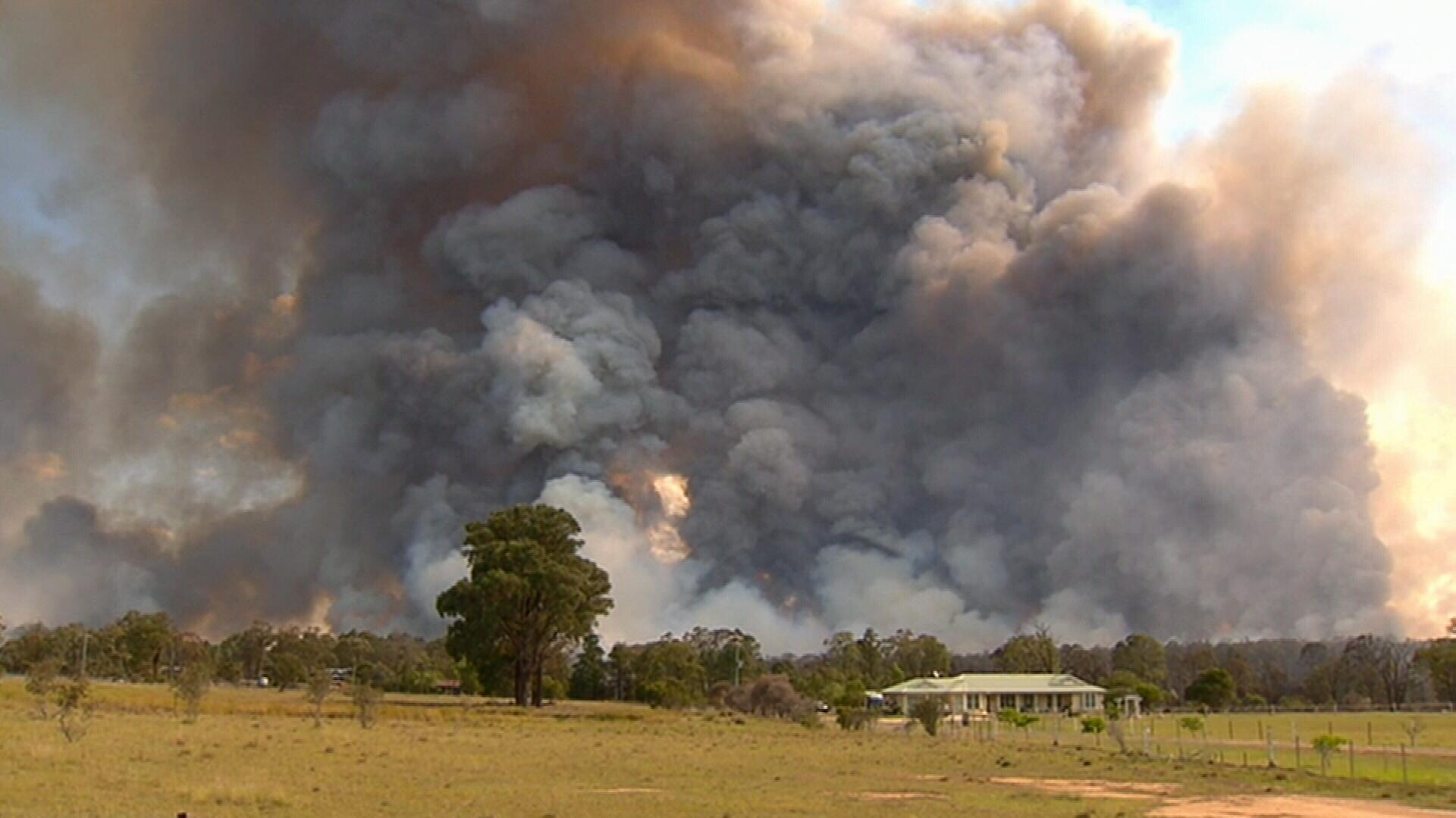 First summer heatwave sweeps across NSW