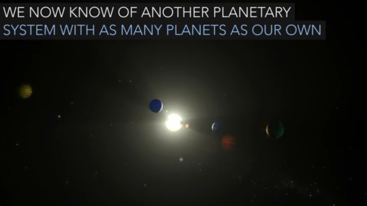 NASA discovers solar system similar to ours