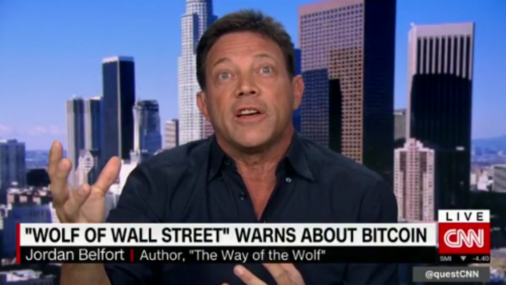 Real 'wolf of Wall St' says Bitcoin is a scam