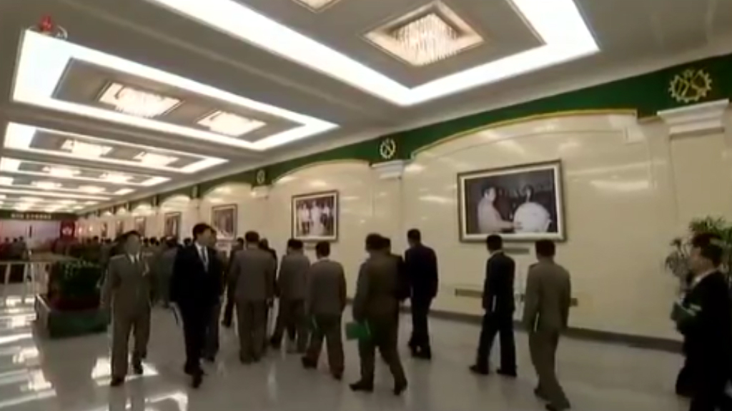 North Korean footage reveals A-bomb picture