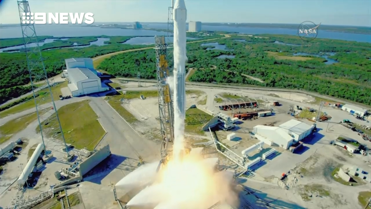 SpaceX rocket 'grocery run' for NASA