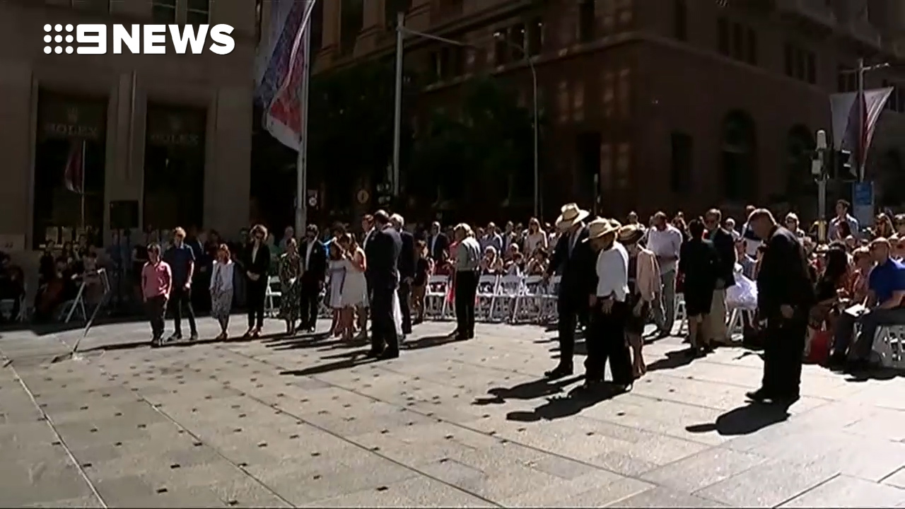 Floral memorial to Lindt café victims unveiled in Martin Place