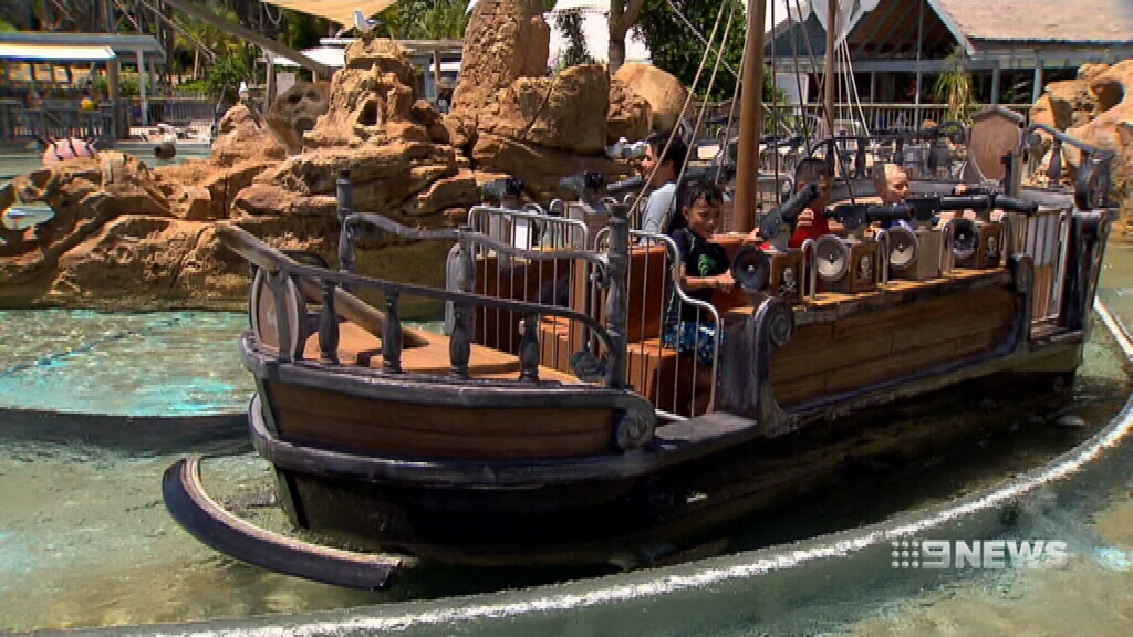 Gold Coast theme parks expecting a busy weekend