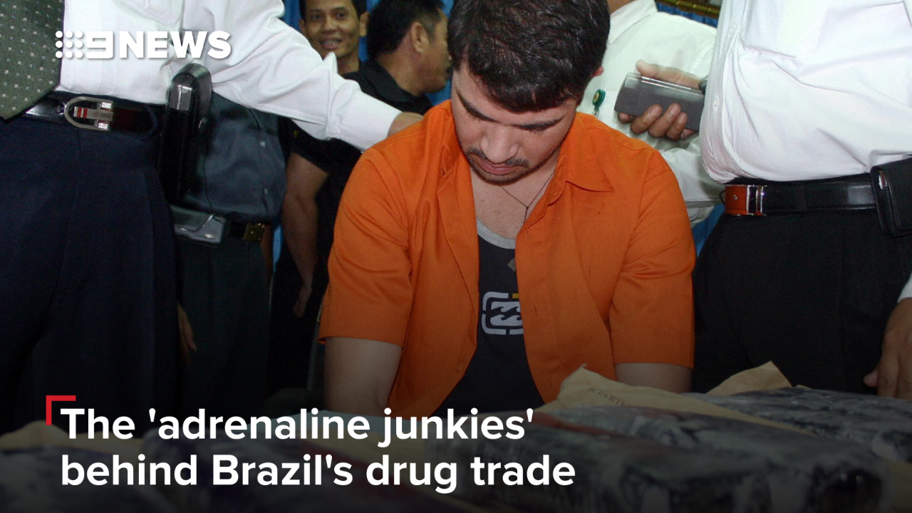 The 'adrenaline junkies' behind Brazil's drug trade