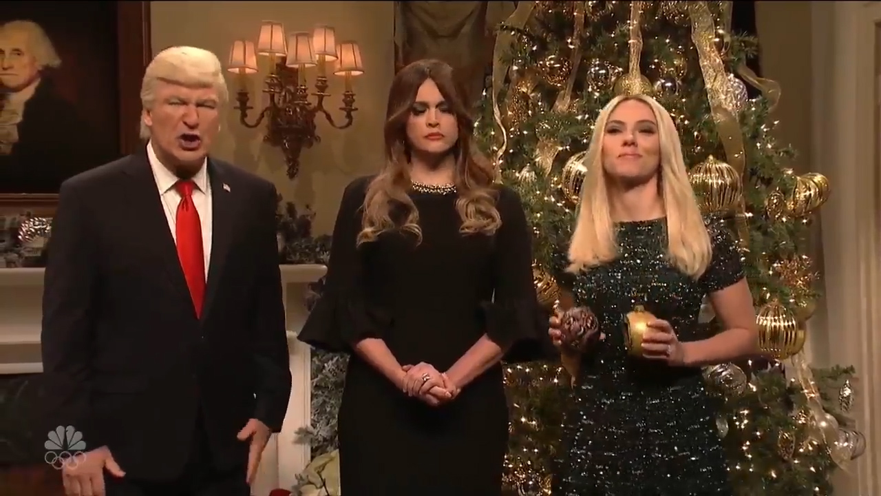 Alec Baldwin's Donald Trump declares war on Christmas is over