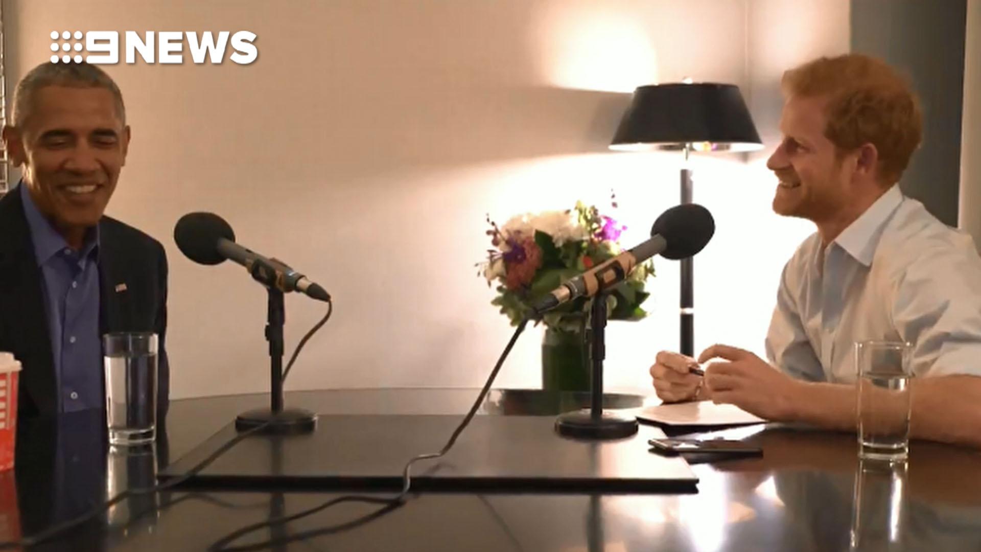 Prince Harry interviews  Barack Obama