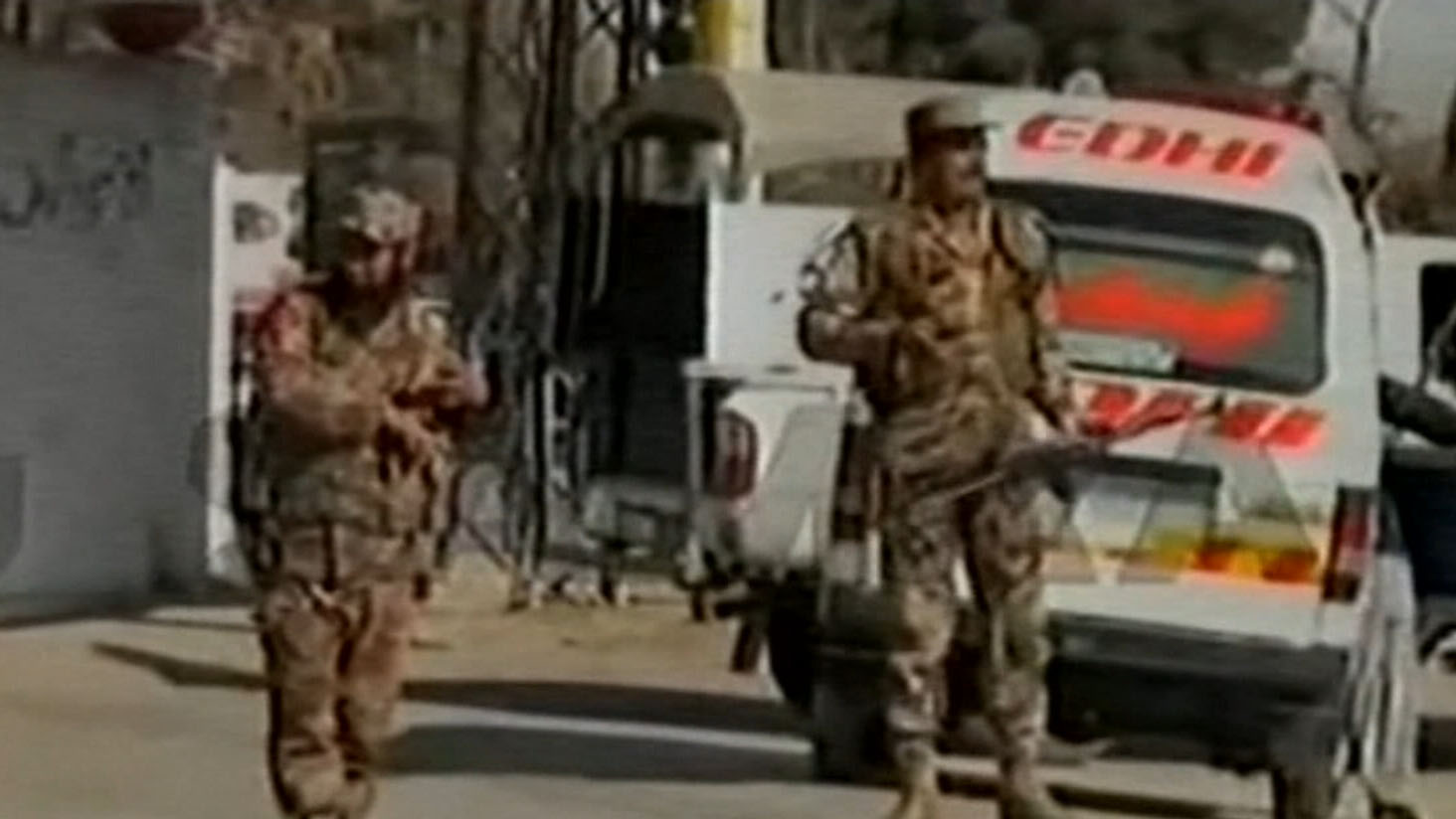 Suicide bombers kill nine at church in Pakistan