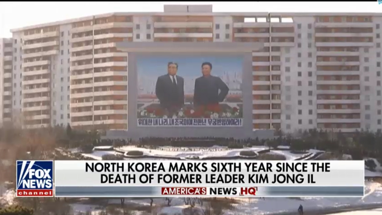 North Koreans pay tribute to former leader Kim Jong Il
