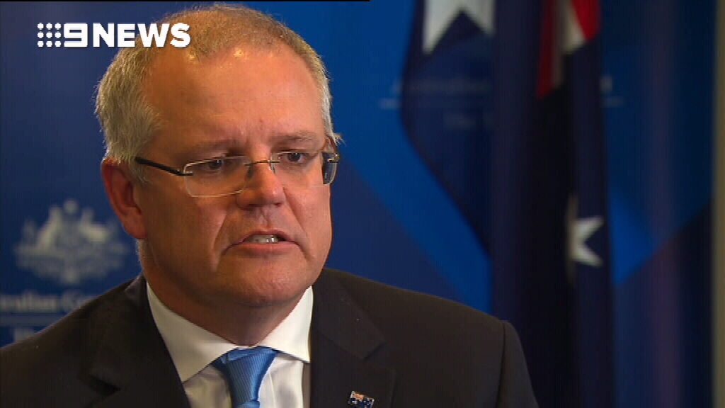 Scott Morrison on MYEFO